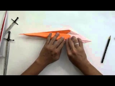 How to make an origami sword narsil sword)