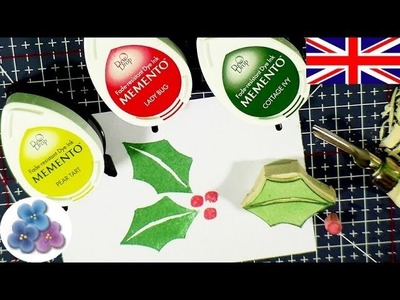 How to Make Mistletoe Carving Stamps DIY *Make Stamps* Christmas Stamp Carving Scrapbook Mathie