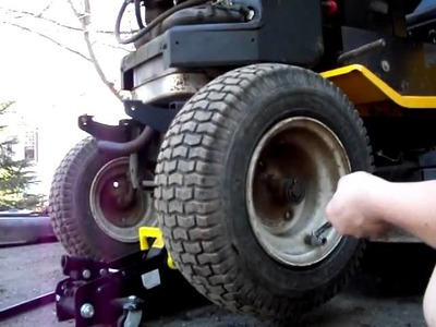 How to Re-Seat A tire Bead On a tractor