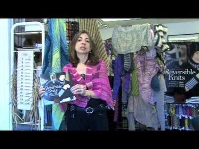 Iris Schreier Shares Knitting Techniques for Reversible Knits