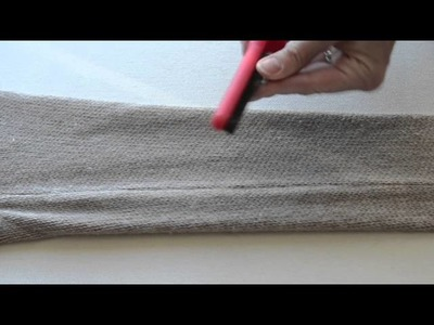 Lilly Brush: How to Remove Pills from Merino Wool