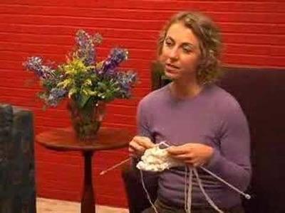Lions Den: Knitting the Ruffles Frill-Seeker Scarf 2of 2