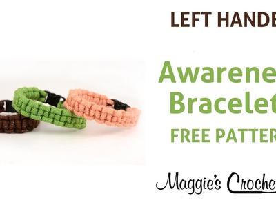 Macrame Bracelets Crochet Free Pattern Left Handed