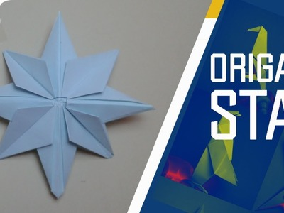 Origami - How to make an easy Origami Star