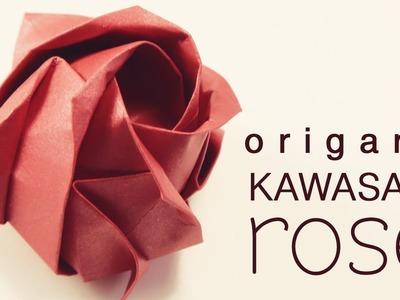 Origami - Kawasaki Rose