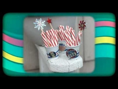 Patriotic Craft Ideas for 4th of July - Dollar Store Crafts