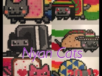 Perler Bead Nyan Cats
