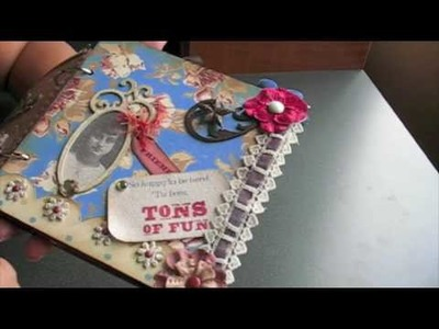 PT 5~Scrapbooking MEGA MINI Album! *SURPRISE* Happy Birthday MARION @ APieceofCraft.com