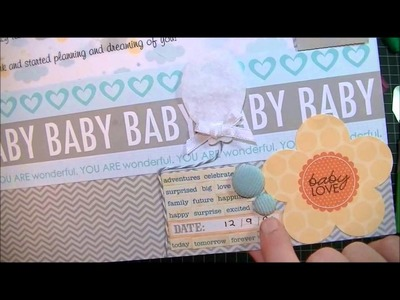 Scrapbooking Tip from Kat, 2 layouts and a small haul