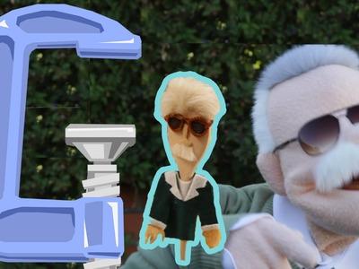 Stan Lee Spoon Puppet - Geek DIY - Ep9