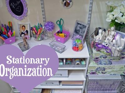 Stationary.Planner Supplies Organization (Plus Mini Closet Tour) 2015  DivaDollFlawless