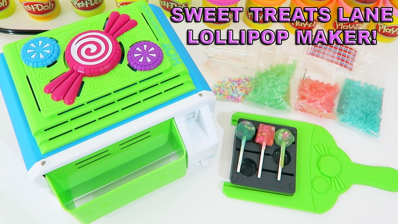 Sweet Treats Lane Lollipop Maker   Easy DIY Make & Share Candy With Your Friends!