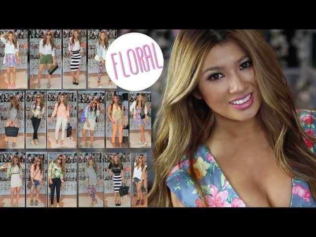 Ultimate Floral LookBook| Style for Spring.Summer Guide