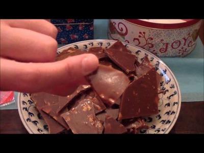 25 Days of Christmas Crafts: Almond Roca Part II of II