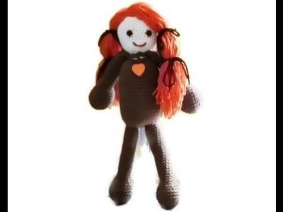 Amigurumi Doll Head Part 4 by Crochet Hooks You