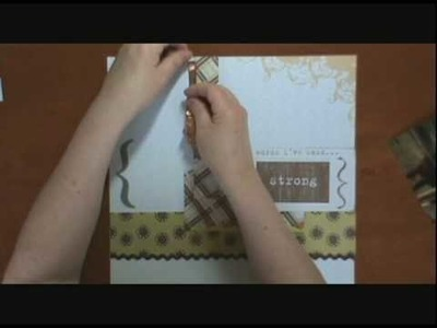 Beginner Scrapbooking Tutorial - Horse Magic