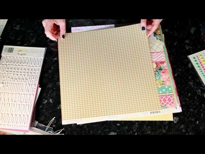 Best of Both Worlds Scrapbooking Kit :: July 2013 Product Picks