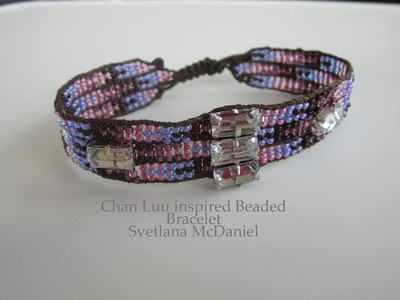 Chan Luu inspired Beaded Bracelet