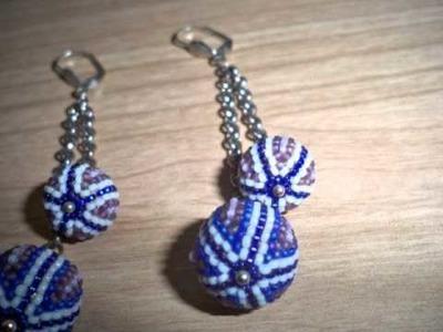 Collane con beaded beads