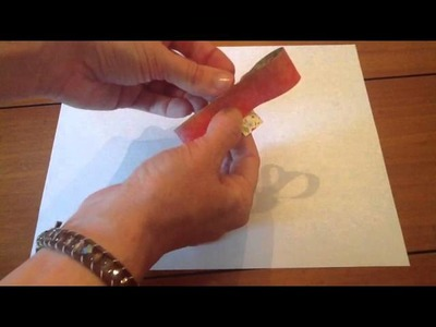 Cool paper Crafts: How to Make Paper Bows from Stampin' Up Catalog Stampinup