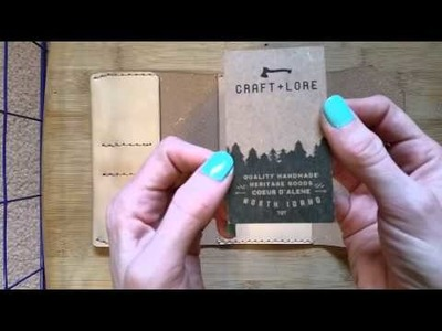 Craft & Lore Northwestward Field Notes cover unboxing