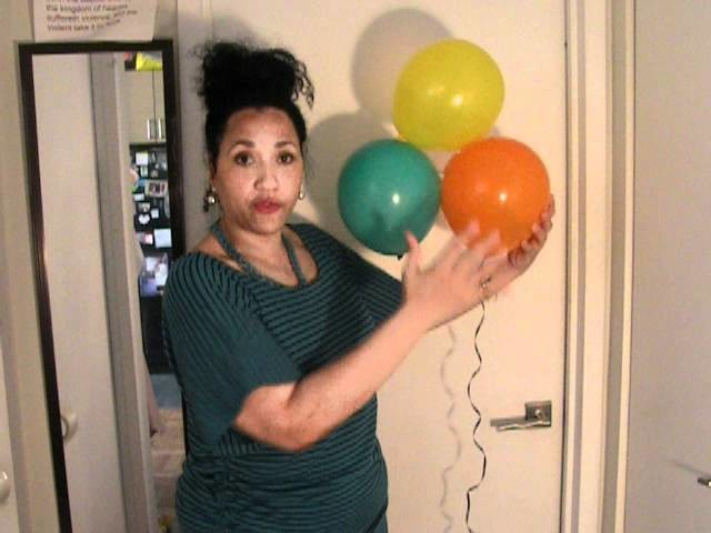 DIY.Balloons.Cheap Party Decorations!