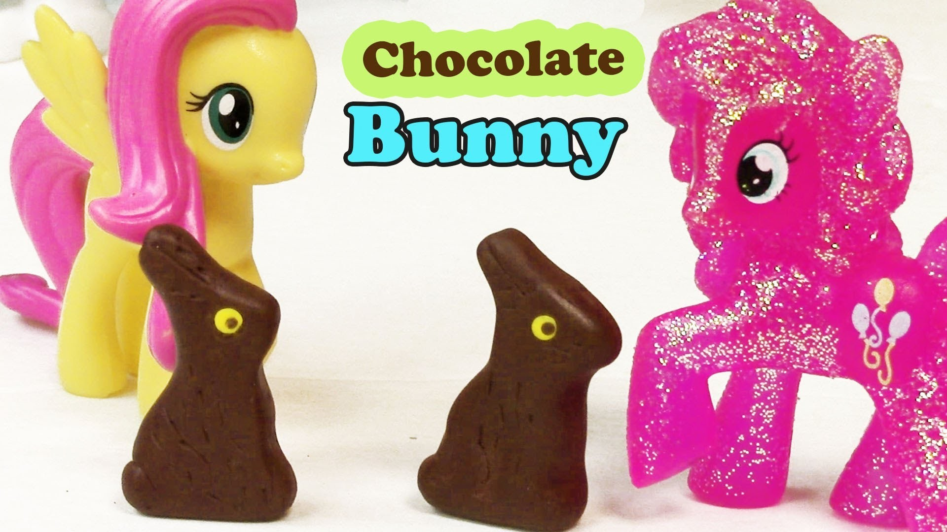 DIY Chocolate Easter Bunny My Little Pony Littlest Pet Shop LPS MLP Doll Food