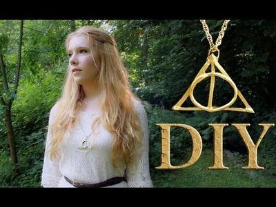 DIY Harry Potter And The Deathly Hallows Necklace