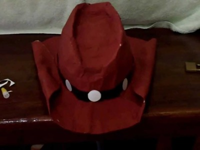 DIY How to make a Cosplay Hat Tutorial
