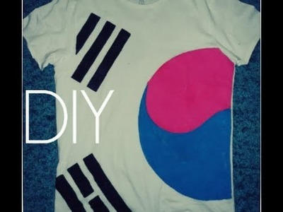 DIY: Korea Tshirt - Tutorial