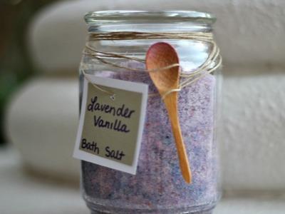DIY: Scented Bath Salts | spreadinsunshine15