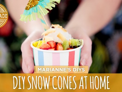 DIY Snow Cones at Home - HGTV Handmade