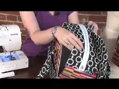 DIYStyle Episode 54-Zippered Tote (Part Two)
