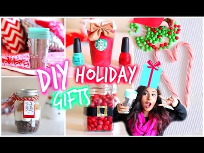 Easy & Affordable DIY Holiday Gift Ideas! 2014