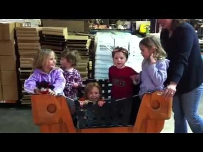 Fun at Craft-e-Corner Warehouse!