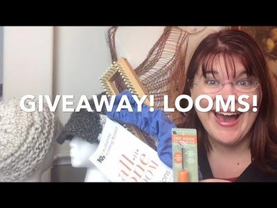 Giveaway | Knitting Board AllnOne loom, Ergo tool & loom cover