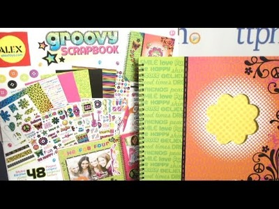 Groovy Scrapbook Kit from Alex Toys