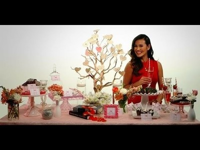 How to Create a Romantic Dessert Table | Valentine's Day | POPSUGAR Cookbook