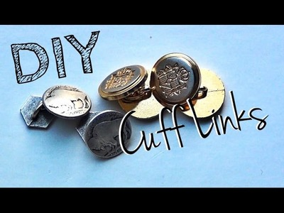 How to Make Cuff Links ♥ DIY Gifts