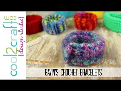 How to Make Gavin's Crochet Bracelets