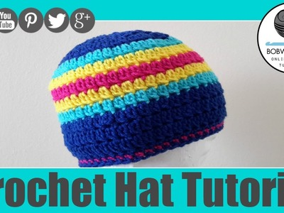Lazy Cluster Hat Crochet Tutroial