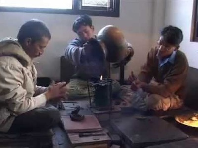 Metal Casting Technology for Traditional Metal Arts and Crafts of Nepal