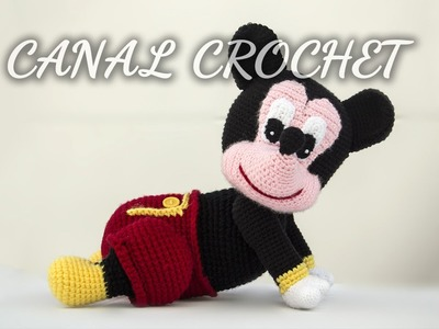 Mickey bebe amigurumi tutorial