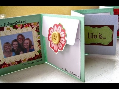 Mini Envelope Scrapbook Album