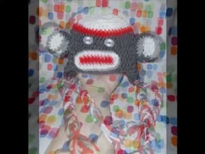 My Crochet Owl & Sock Monkey Hats
