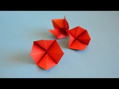 Origami Blossom Instructions: www.Origami-Fun.com