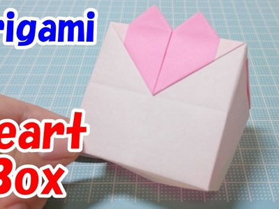 Origami Heart Box! Easy Tutorial