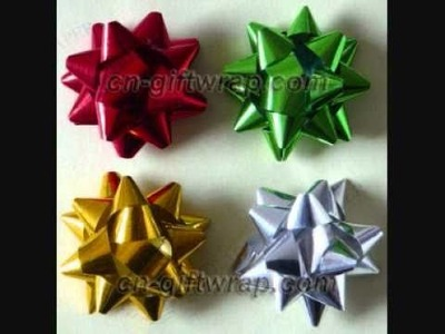 Star Bows for gift decorate