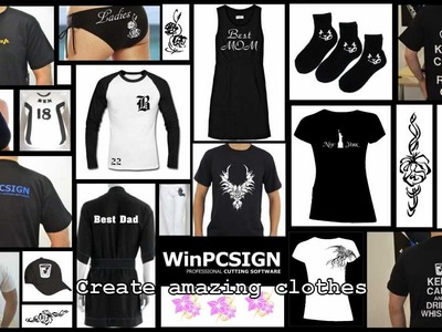 T-shirt and clothing DIY Make a creation business - WinPCSIGN 2012 TRAINING