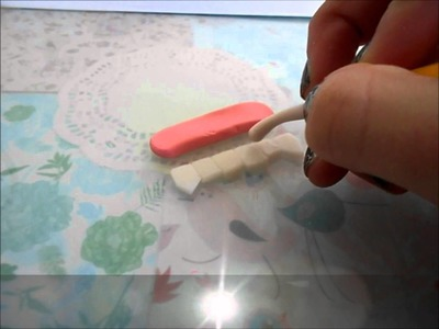 Vampire Teeth Polymer Clay Creepy Crafts Episode #4